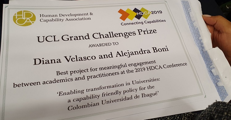 UCL Grand Challenges Prize